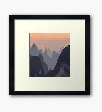 Favorite backgrounds Framed Print