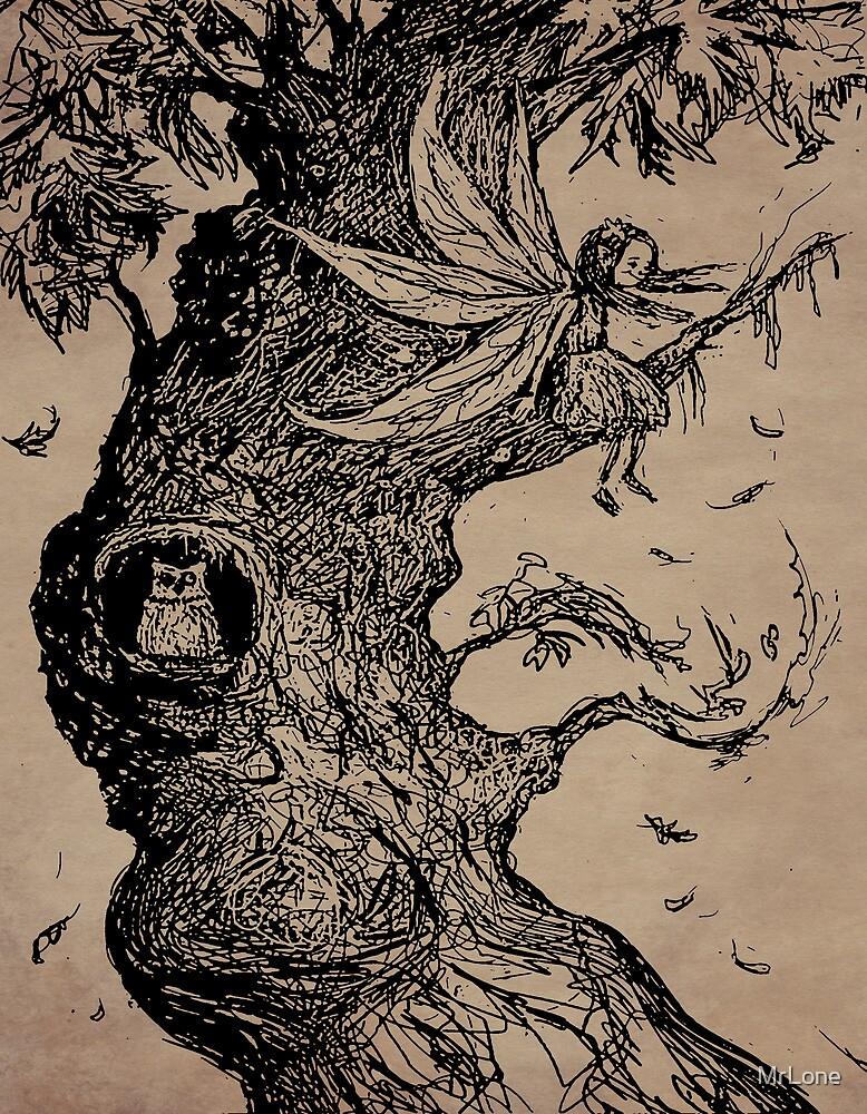 fairy sketch by MrLone