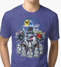 Penguin Time Tri-blend T-Shirt
