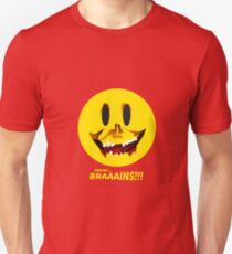 Zombie Smiley Brains T-Shirt