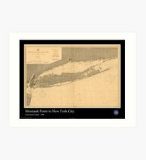Long Island Wall Art historical map of long island: wall art | redbubble