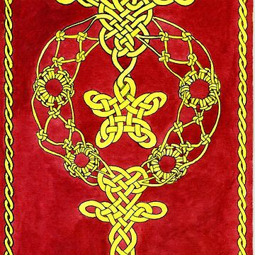 Celtic knot cross by TomAsche