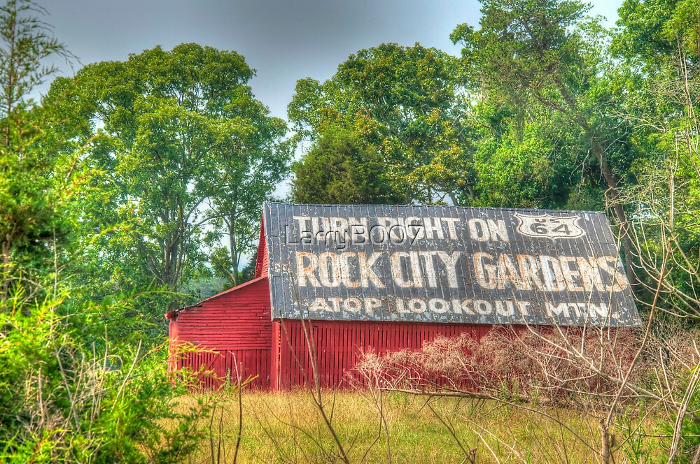 The Rock City Barn Tradition by LarryB007