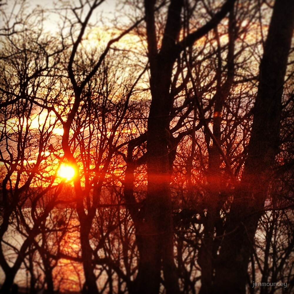 Sun Set by jenmouncey