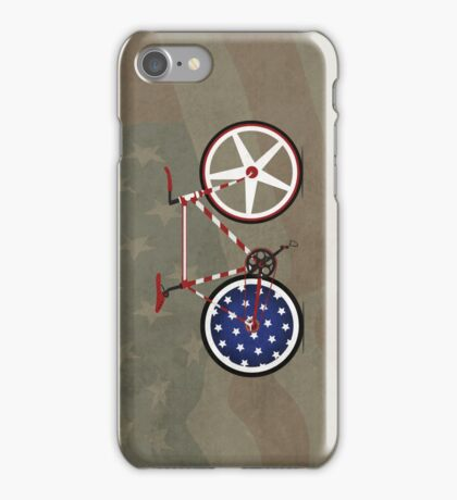 I Love My American  Bike iPhone Case/Skin