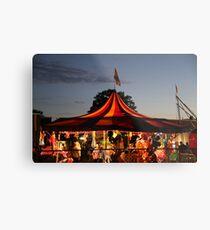 Carnival Tent Metal Print