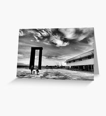 Freedom Square in Viana do Castelo Greeting Card
