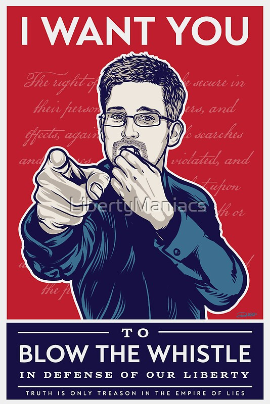 """Edward Snowden I Want You"" Posters by LibertyManiacs ..."