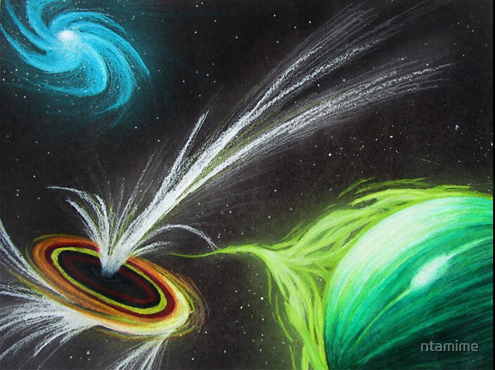 Black Hole by ntamime