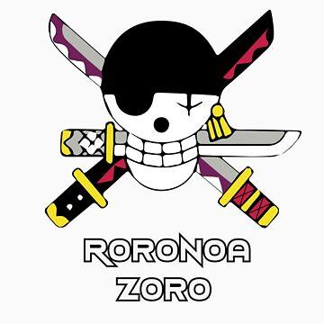 Zoro's Pirate Flag by Zanzabar7