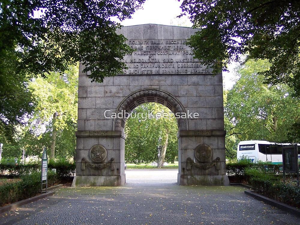Entrance to Treptower Park by CadburyKeepsake