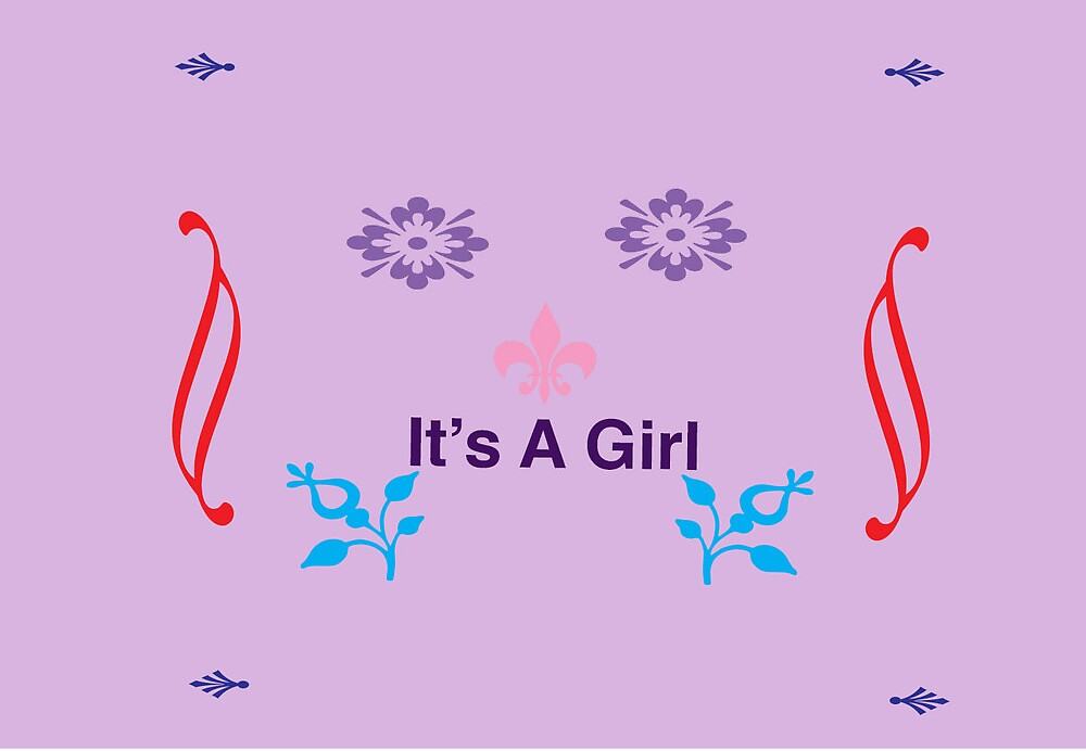 It's A Girl by plmixdesigns