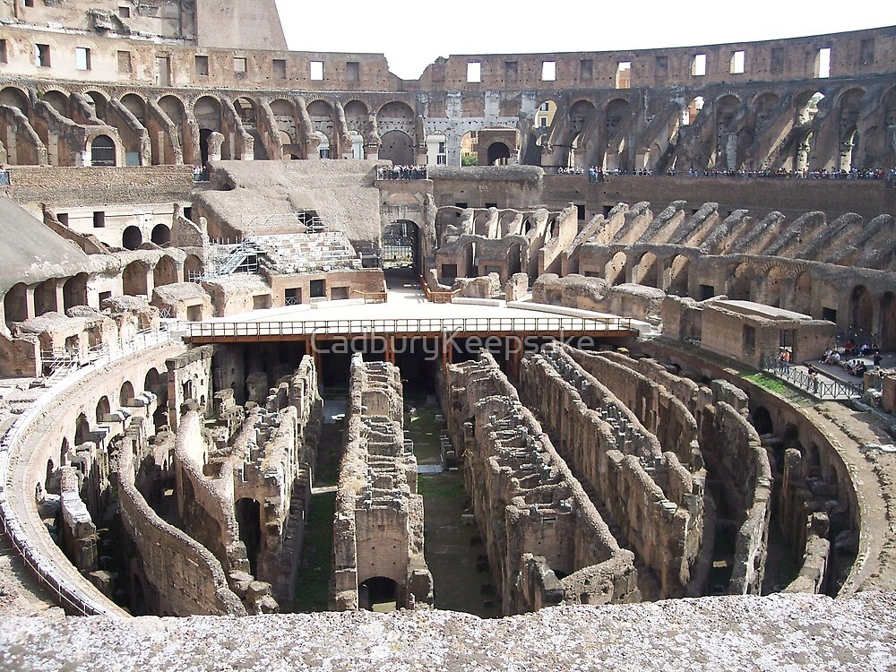 Colosseum of Rome by CadburyKeepsake