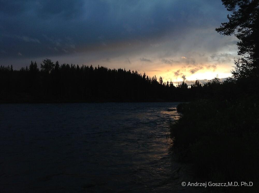 Byske River. Sweden. by © Andrzej Goszcz,M.D. Ph.D