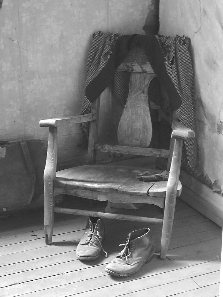 Chair in the Corner by Coralea Breezley