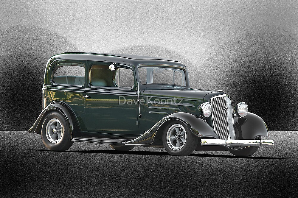 1935 Chevrolet Sedan I by DaveKoontz