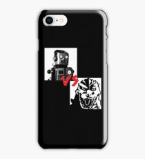 Robots Vs Monsters iPhone Case/Skin