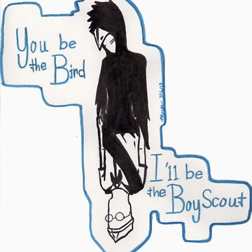 The Bird and the Boy Scout by mmerys