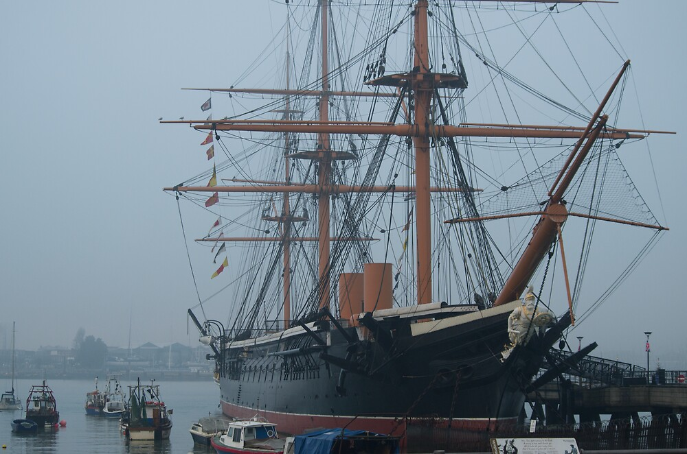 HMS Warrior by Kevin Cartwright