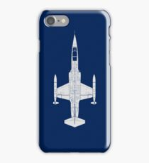Lockheed F-104 Starfighter iPhone Case/Skin