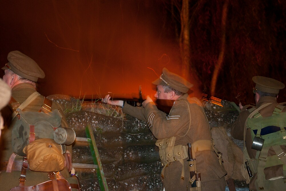 A Night in the Trenches by Kevin Cartwright