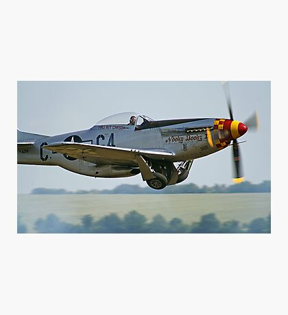 "P-51D Mustang ""Nooky Booky IV"" - Duxford Flying Legends 2013 Photographic Print"