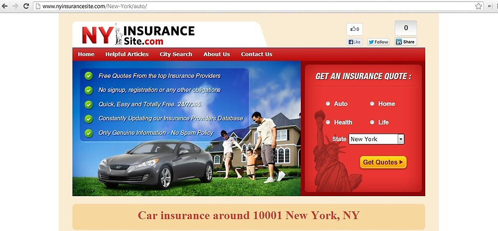 Low cost car insurance located in Manhattan, The big apple  by seimlydz8