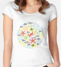print Sea Women's Fitted Scoop T-Shirt
