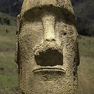 Moai head by MunschkinMedia