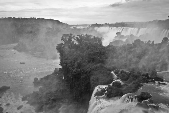 Iguazu Falls by Roger McNally