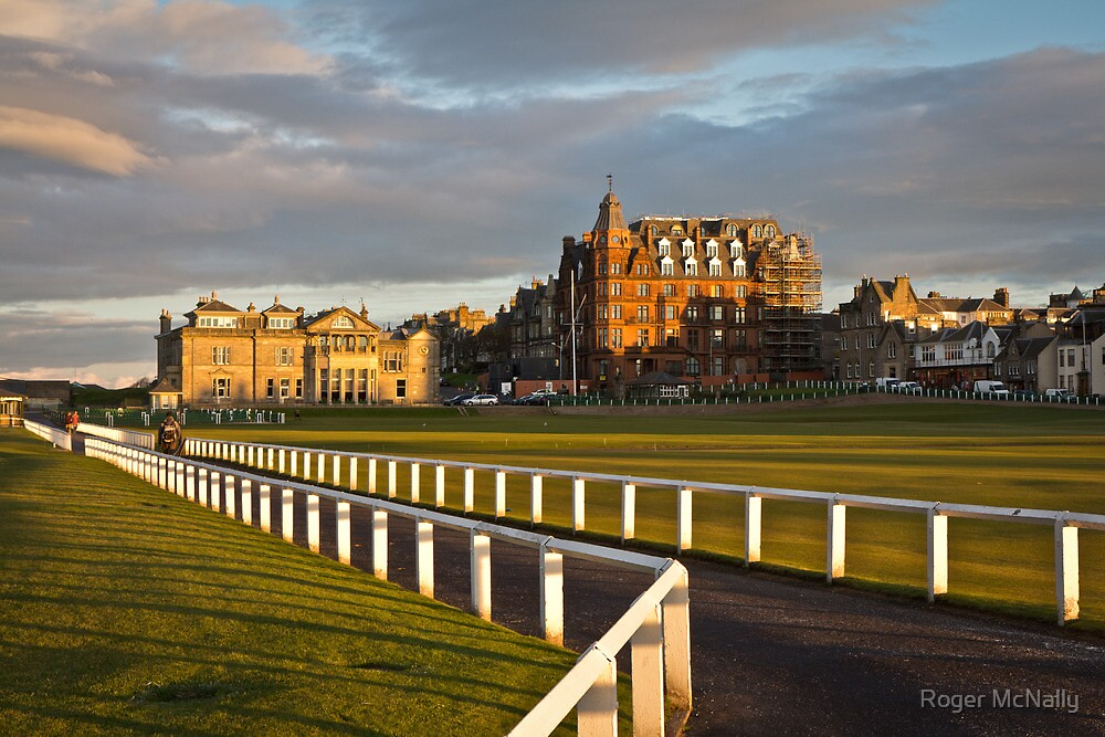 Old Course by Roger McNally