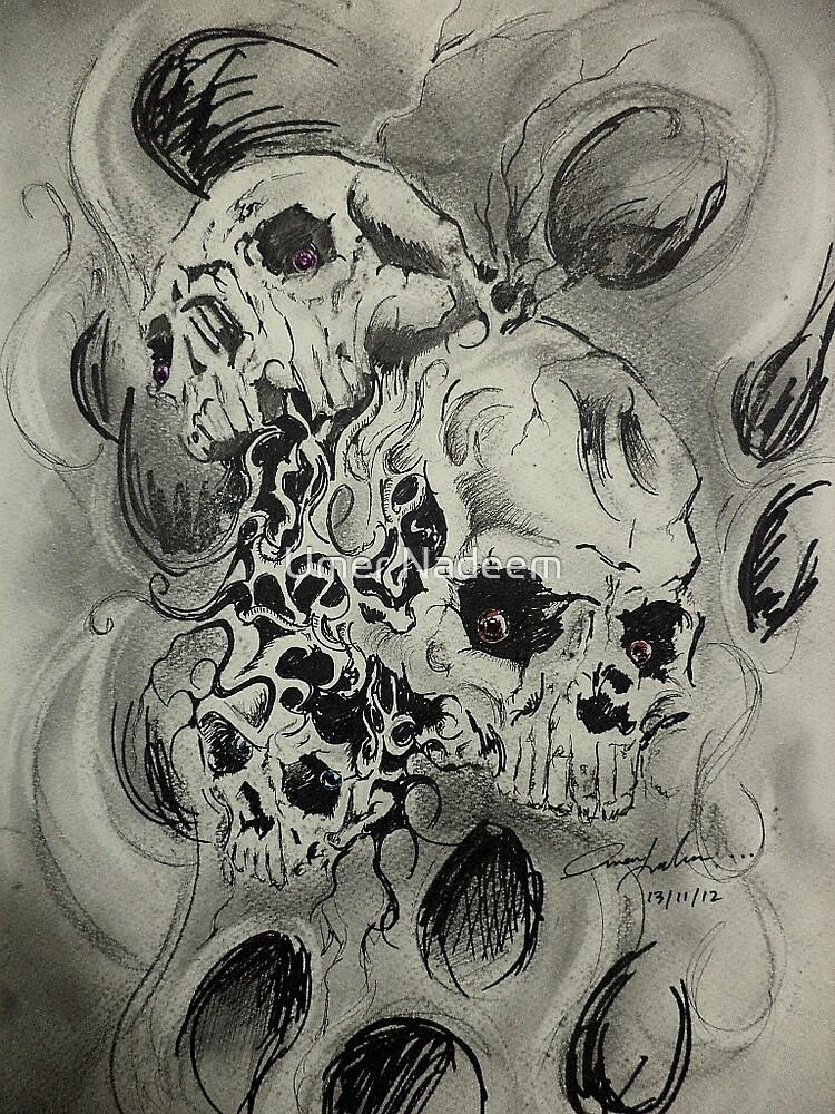 Skullz by Umer Nadeem