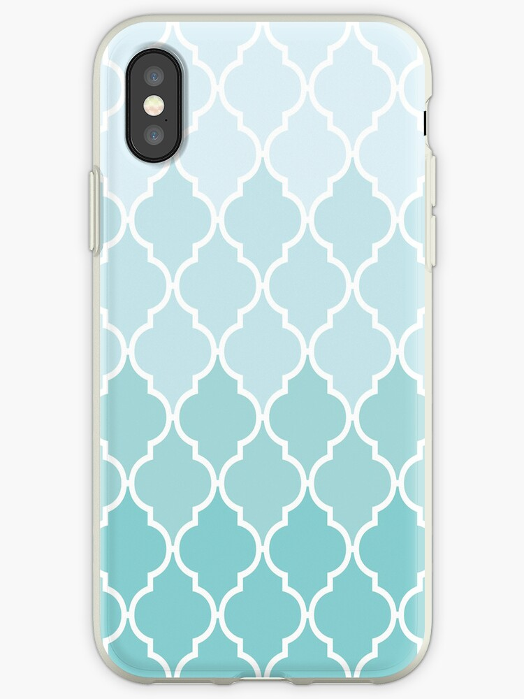 Ombre Blue - iPhone Case by thonghj