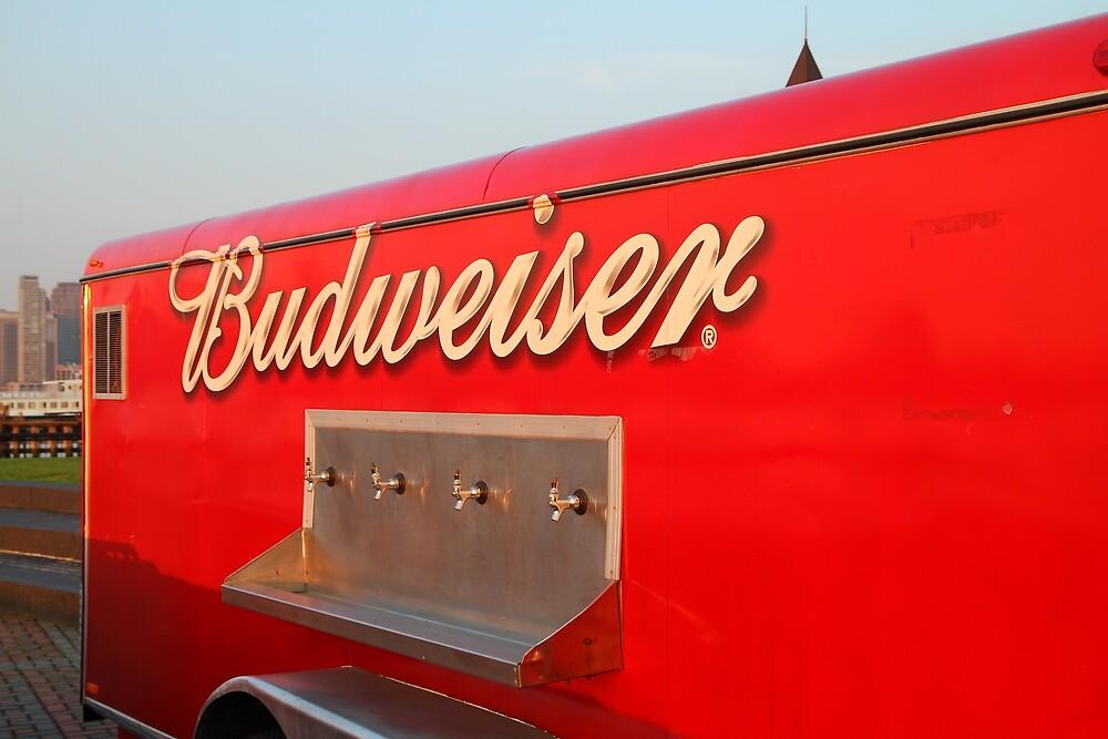 Budweiser On Tap Pier A Hoboken by pmarella
