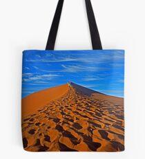 Sand Dune Hiking Tote Bag