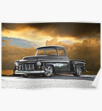 1956 Chevrolet Stepside Pick-Up Truck III Poster