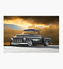 1956 Chevrolet Stepside Pick-Up Truck III Photographic Print
