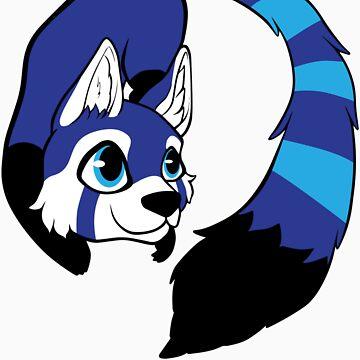 Blue Panda by kiasha