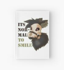 Smiling is Normal Hardcover Journal