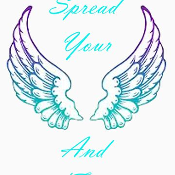 Spread Your Wings And Fly Inspirational by xoNIALL3R