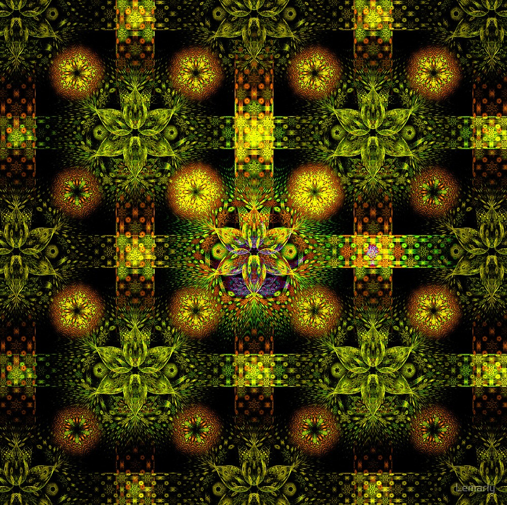 FlowerTile by Lemarly