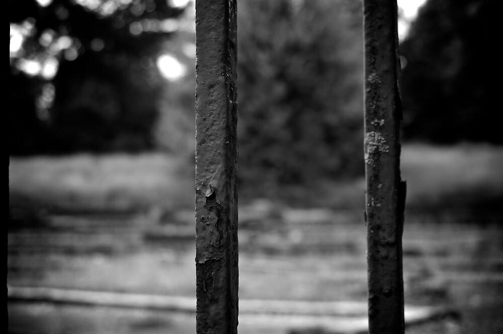 behind bars by Rowan Kanagarajah