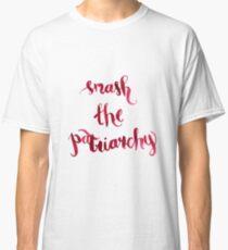 Smash The Patriarchy Classic T-Shirt