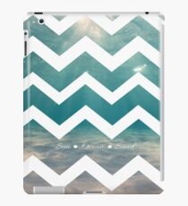 Summer Chevron iPad Case/Skin