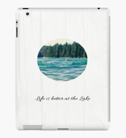 Life on the Lake  iPad Case/Skin