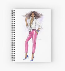 Pink and Fab Spiral Notebook