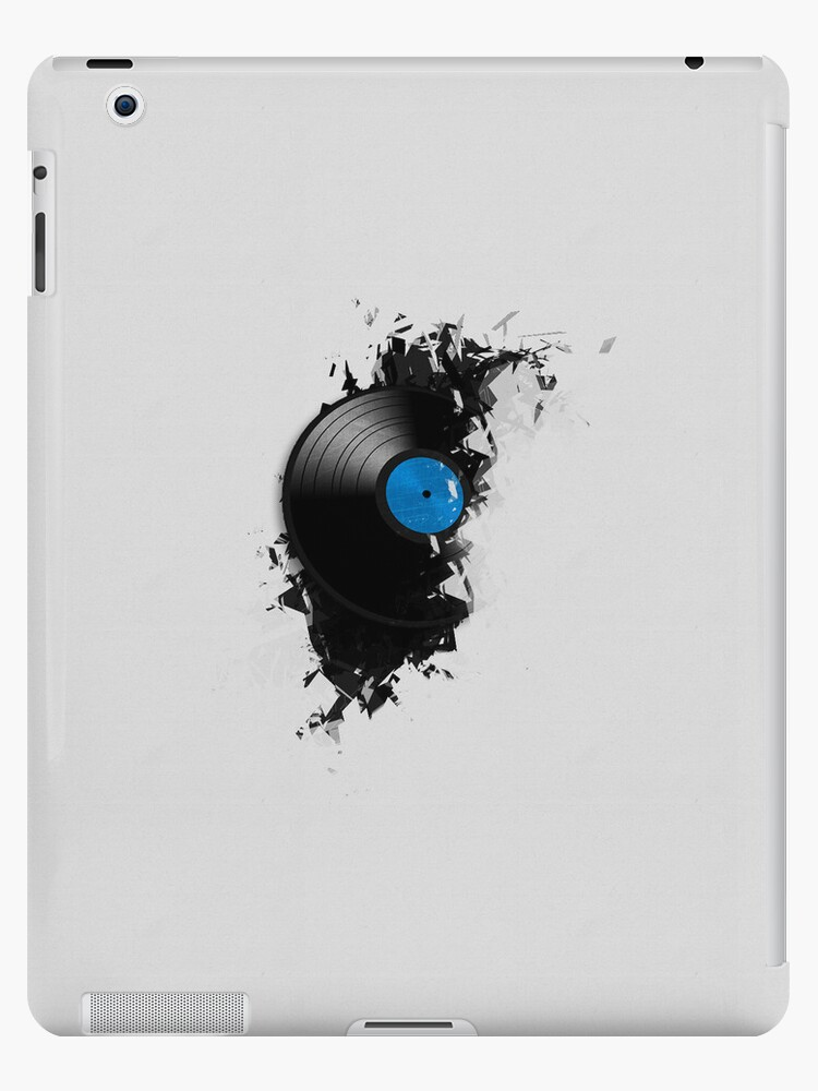 Abstract Grunge Record for iPad by Dashmagic