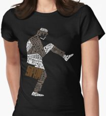 Briefcase Full of Spam (dark bkgd) Women's Fitted T-Shirt