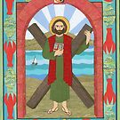 St. Andrew the Apostle Icon by David Raber