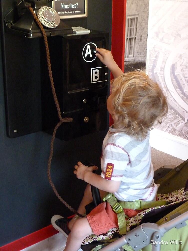 Wonder which button wins the teddy! by Sandra Willis